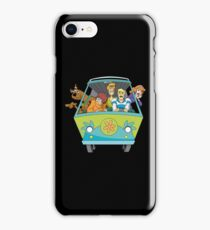 Scooby and gang iPhone Case/Skin