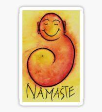 Namaste Buddha  Sticker