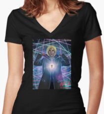Tribute to 13 Women's Fitted V-Neck T-Shirt