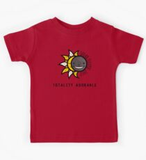 Solar Eclipse 2017 Shirt - Totality Adorable - August 21, 2017 - White Kids Clothes