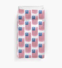 Vintage USA Flag Duvet Cover