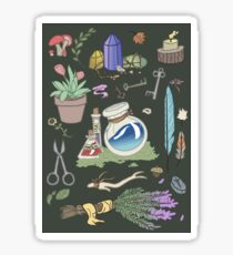 Woodland Witch Supplies Sticker