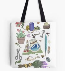Woodland Witch Supplies Tote Bag