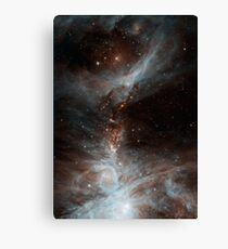 Black Galaxy Canvas Print