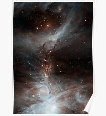 Black Galaxy Poster