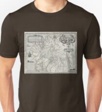 Descripcion Reyno de Galizia de Ojea (Map of Galicia, early 17th century) T-Shirt