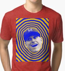 Camiseta de tejido mixto HARBAUGH