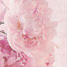 Artsy Multi Pink Peonies  by Sandra Foster