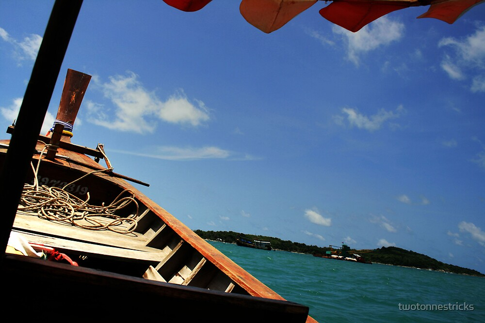 Longtail Boat by twotonnestricks