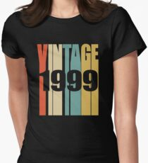 Vintage 1999 Birthday Retro Design  T-Shirt