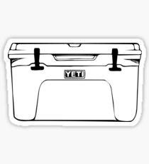 Cooler (White) Sticker