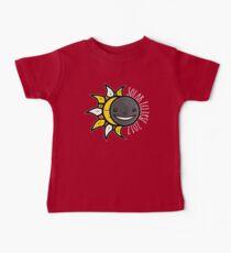 Solar Eclipse Shirt  - August 21, 2017 - Minimal Colors Black Kids Clothes