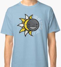 Solar Eclipse Shirt  - August 21, 2017 - Minimal Colors Black Classic T-Shirt