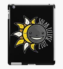 Solar Eclipse Shirt  - August 21, 2017 - Minimal Colors Black iPad Case/Skin