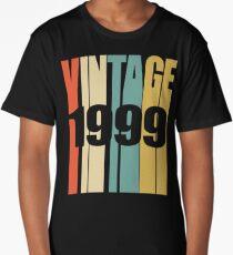 Vintage 1999 Birthday Retro Design  Long T-Shirt