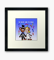 Married Mice  Framed Print