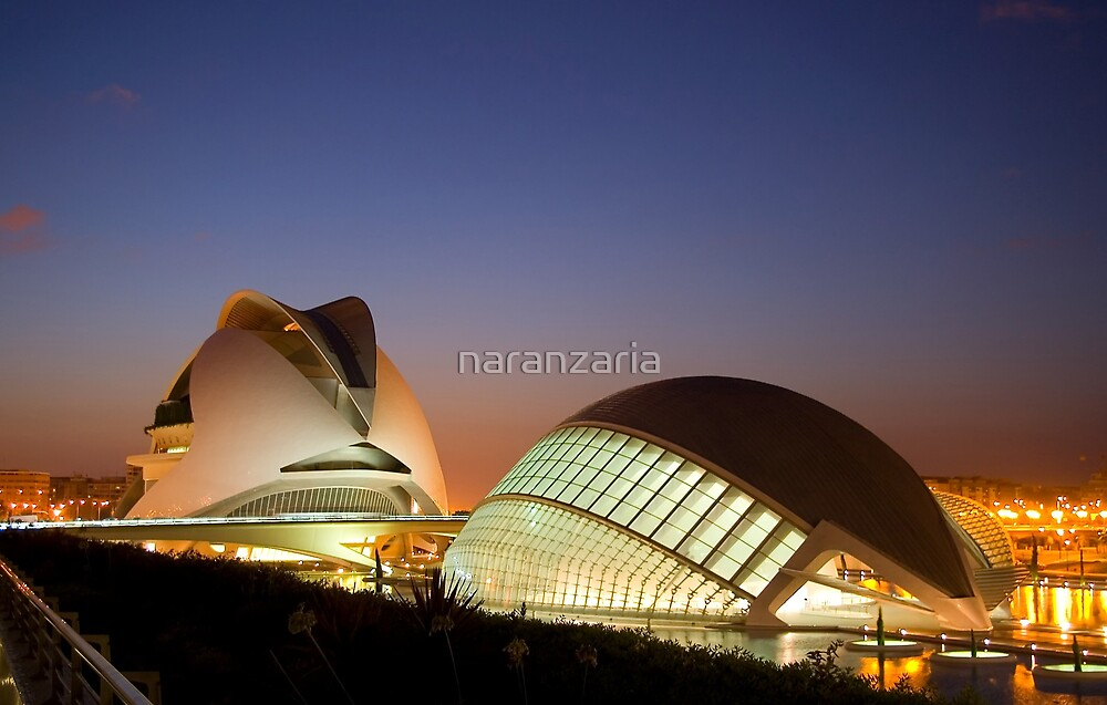Sunset in Valencia by naranzaria