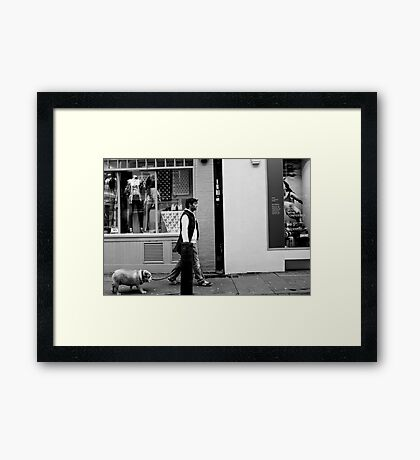 In sync - London, England Framed Print