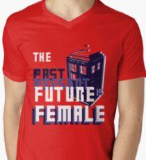 The Past-Present-Future Is Female (TARDIS) T-Shirt
