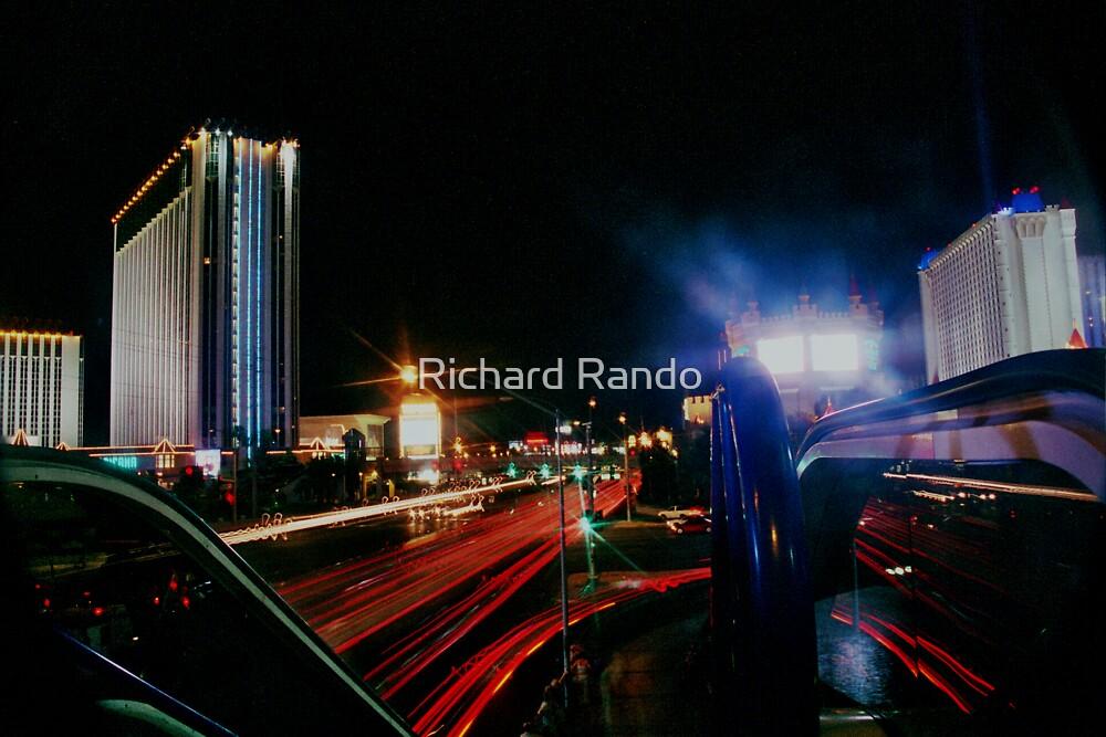 Vegas Trails by Richard Rando