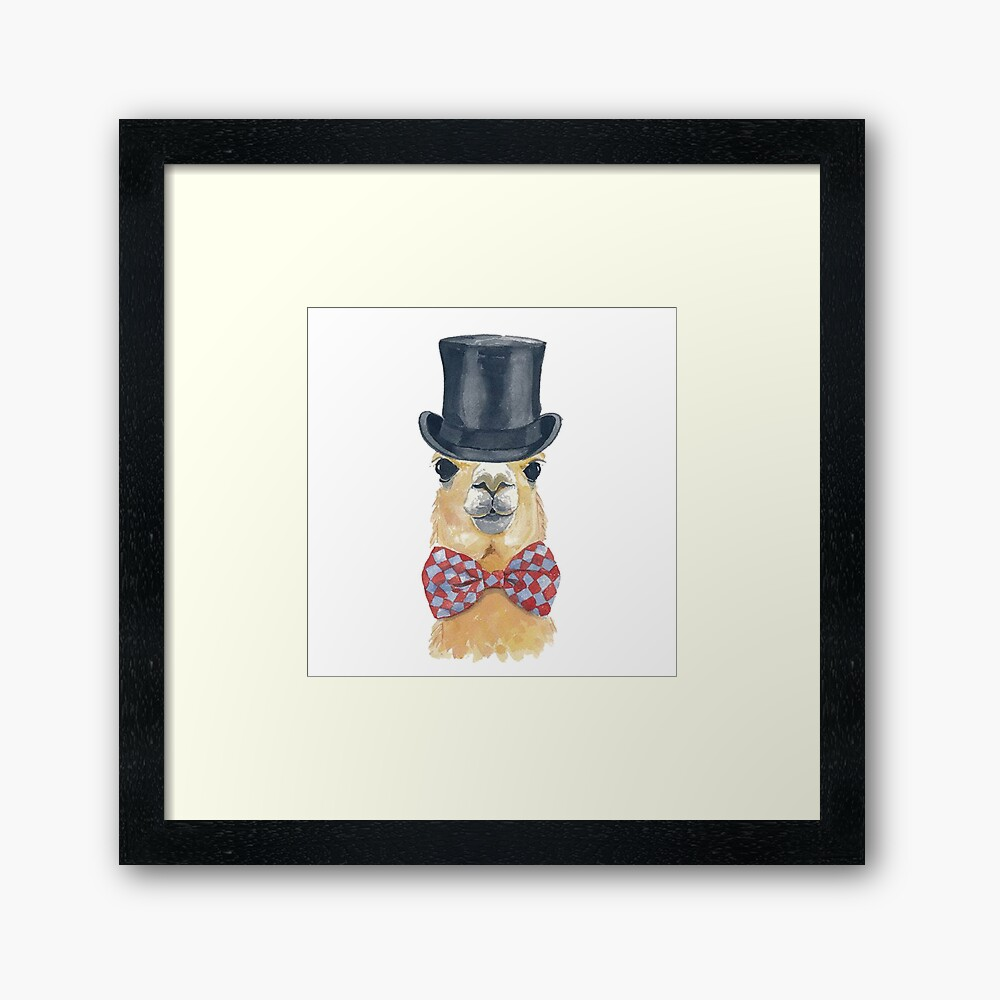 Awesome Alpaca for You Framed Art Print