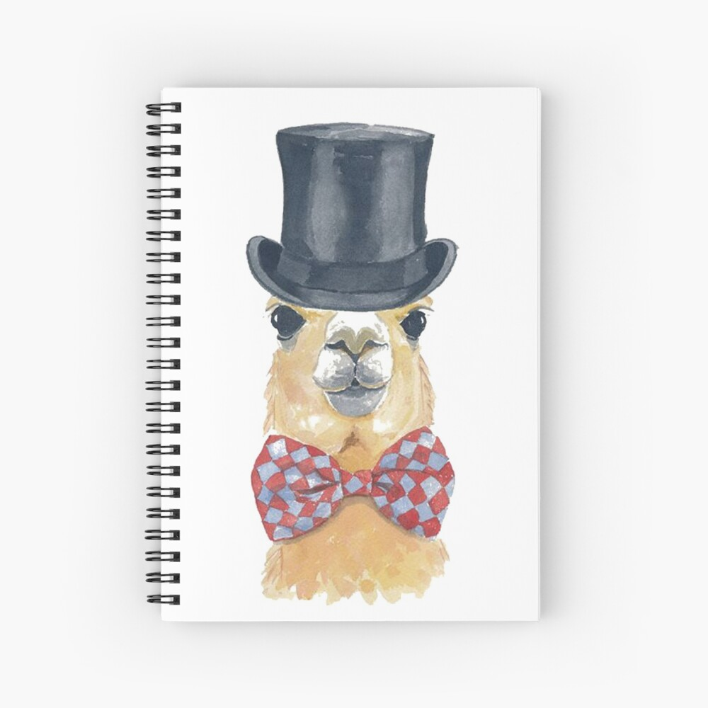 Awesome Alpaca for You Spiral Notebook