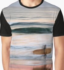 Sunset Surfer Graphic T-Shirt