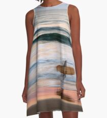 Sunset Surfer A-Line Dress
