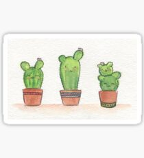 Cactus Buds Sticker