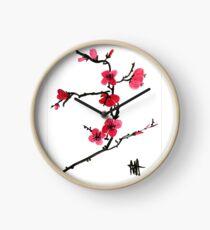 Blossom - Japanese cherry blossom Clock