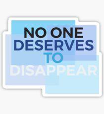 Dear Evan Hansen Sticker