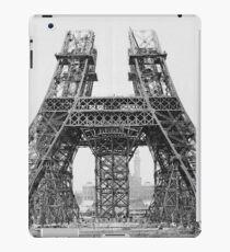 Eiffel Tower Construction iPad Case/Skin