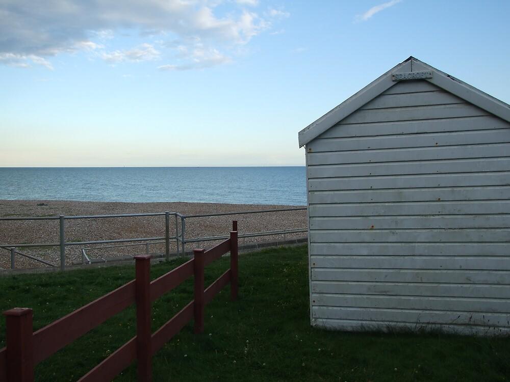 Beach hut lines by hallix