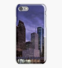 Houston Night Skyline  iPhone Case/Skin