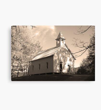 Methodist Church Canvas Print