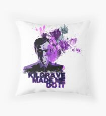 Excuses, excuses... Throw Pillow
