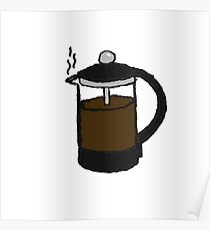 Coffee Plunger Poster
