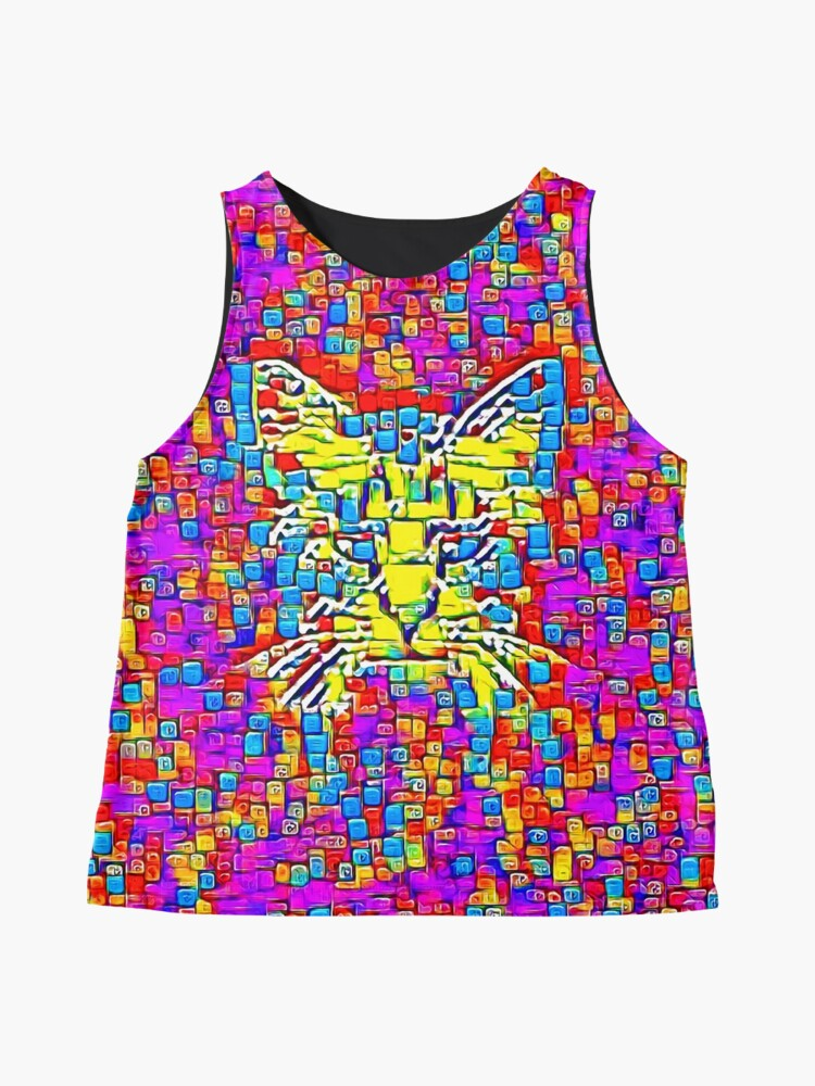 Alternate view of Lemon Cat Sleeveless Top
