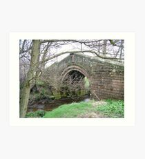 Pack Horse Bridge 4 Art Print