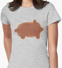 Piggy Pan Womens Fitted T-Shirt