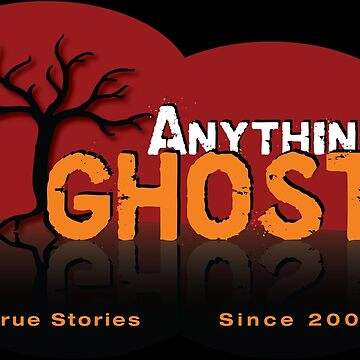 Anything Ghost Tree Logo - Red by anythingghost