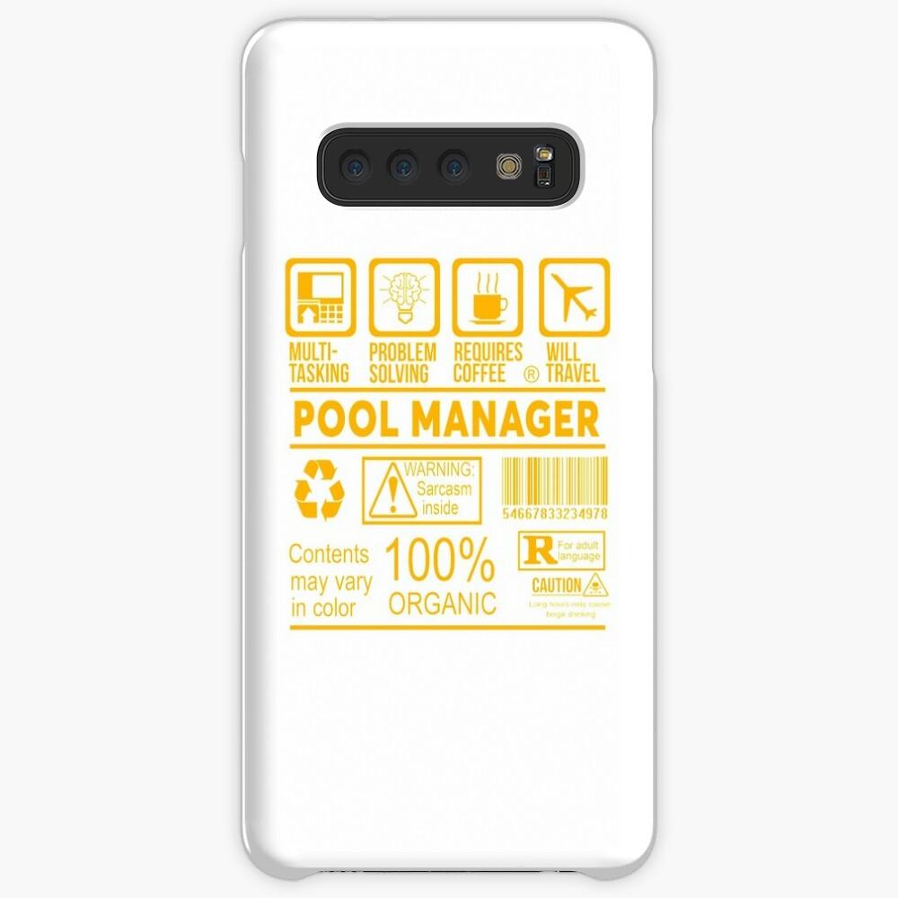 POOL MANAGER - Schönes Design 2017 Hüllen & Klebefolien für Samsung Galaxy