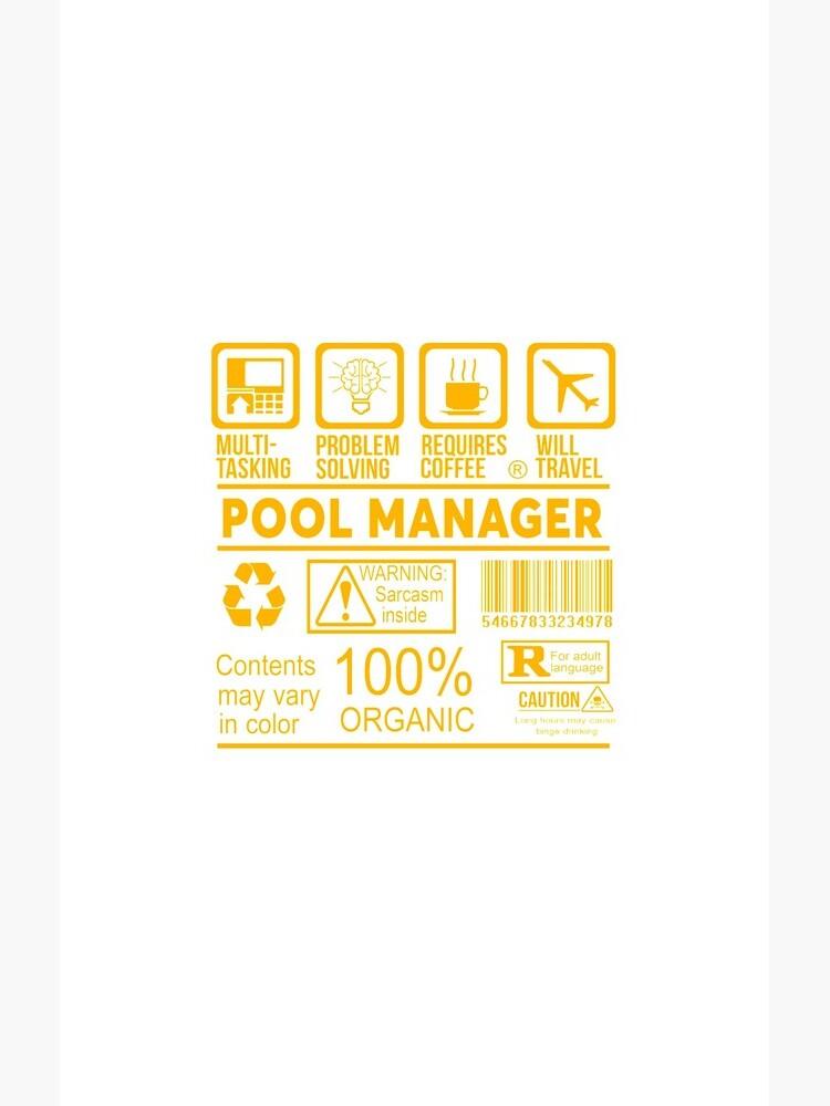 POOL MANAGER - Schönes Design 2017 von Davicowbor