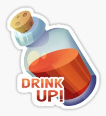 Zelda Item Sticker: Potion Sticker