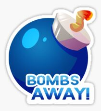Zelda Item Sticker: Bomb Sticker