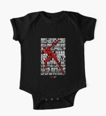 "Don't think about...""Usain Bolt"" Life Inspirational Quote Kids Clothes"