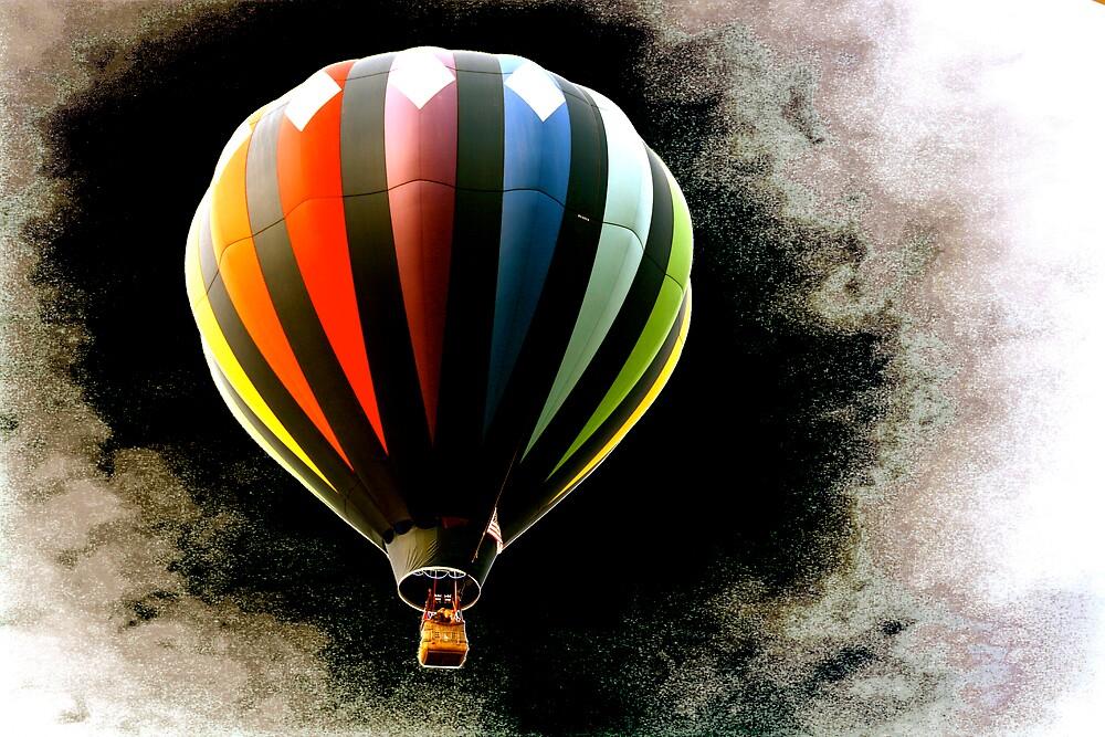 Balloon in Black Hole by Alex Kearns