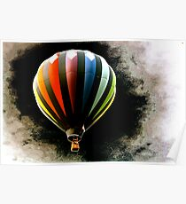 Balloon in Black Hole Poster
