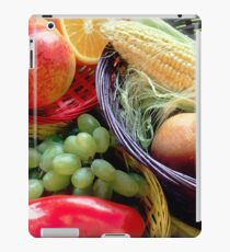 Healthy Fruit and Vegetables iPad Case/Skin