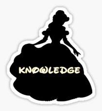 Princess of Knowledge Sticker